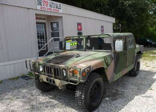 HUMVEE H1 AM GENERAL M998A1 for sale in TAMPA, FL