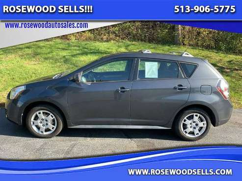 2009 Pontiac Vibe AWD - cars & trucks - by dealer - vehicle... for sale in Hamilton, OH