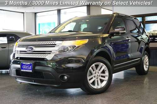 2015 Ford Explorer AWD All Wheel Drive XLT SUV for sale in Lynnwood, WA