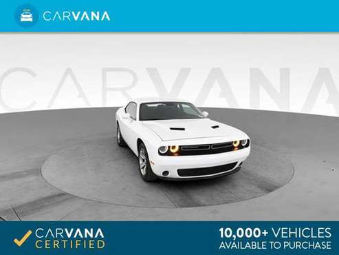 2018 Dodge Challenger SXT Coupe 2D coupe WHITE - FINANCE ONLINE for sale in Atlanta, GA