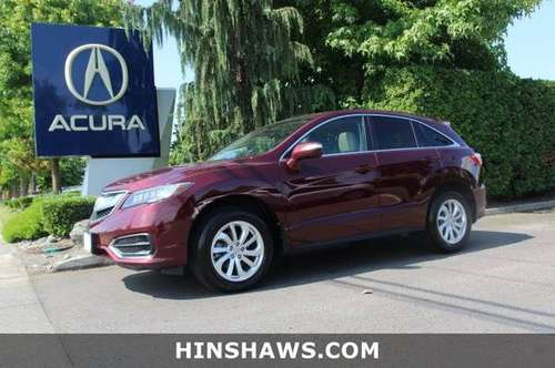 2017 Acura RDX AWD All Wheel Drive SUV for sale in Fife, WA