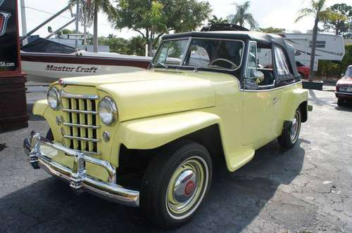 1950 Willys-Overland Jeepster for sale in Lantana, FL