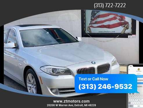 2013 BMW 5 Series 528i xDrive Sedan 4D ***AS LOW AS $495 DOWN!!! for sale in Detroit, MI