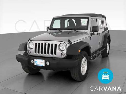 2014 Jeep Wrangler Unlimited Sport S SUV 4D suv Silver - FINANCE -... for sale in Champlin, MN
