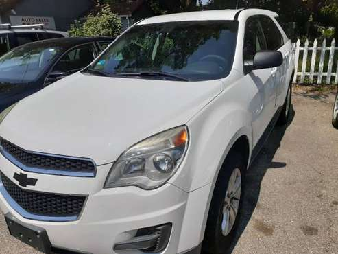 2010 CHEVY EQUINOX LS WHITE for sale in West Warwick, RI
