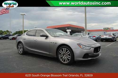 2015 Maserati Ghibli Base $729 DOWN $120/WEEKLY for sale in Orlando, FL