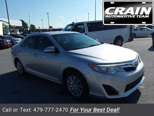2012 Toyota Camry sedan Classic Silver Metallic for sale in Springdale, AR