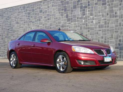 2010 Pontiac G6 w/1SH - cars & trucks - by dealer - vehicle... for sale in Burnsville, MN