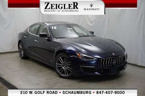 2018 Maserati Ghibli S Q4 GranLusso for sale in Schaumburg, IL
