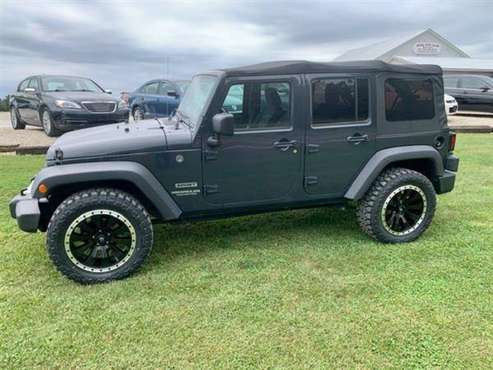 2017 JEEP WRANGLER UNLIMITED SPORT - cars & trucks - by dealer -... for sale in Bland, MO