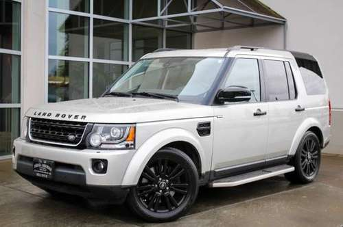 2016 Land Rover LR4 4x4 4WD HSE LUX SUV for sale in Bellevue, WA