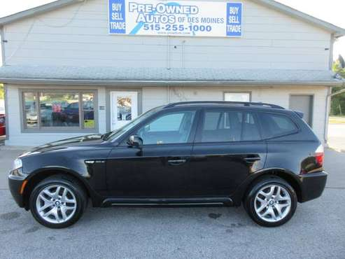 2007 BMW X3 Sport AWD - Auto/Leather/Roof/Wheels/Navigation - SHARP!! for sale in Des Moines, IA