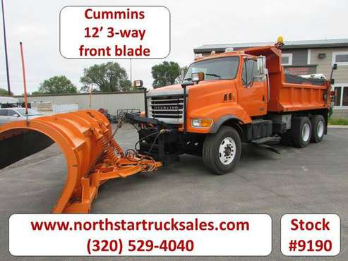 2003 Sterling LT8511 Cummins Plow Truck for sale in ST Cloud, MN