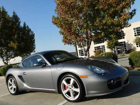 2006 PORSCHE CAYMAN S ONE OWNER 6 SPEED MAN BOSE EXCELLENT for sale in EXCELLENT CONDITION ,FINANCING AVAILABLE, CA