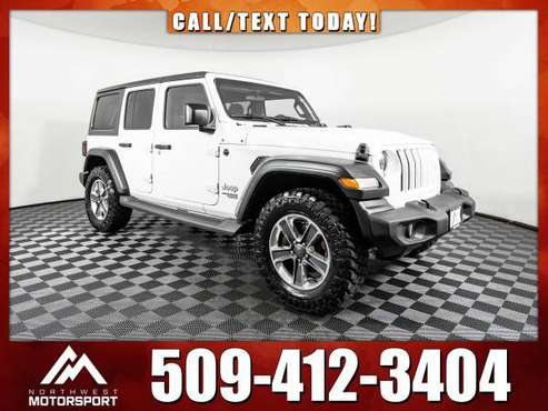 2019 *Jeep Wrangler* Unlimited Sport 4x4 - cars & trucks - by dealer... for sale in Pasco, WA