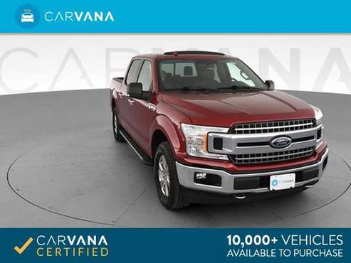 2018 Ford F150 SuperCrew Cab XL Pickup 4D 5 1/2 ft pickup Dk. Red - for sale in Richmond , VA