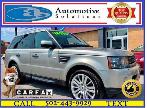 2011 Land Rover Range Rover Sport HSE 4x4 4dr SUV for sale in Louisville, KY