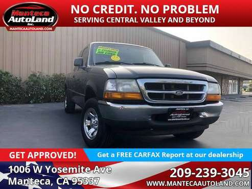 2000 Ford Ranger XLT - cars & trucks - by dealer - vehicle... for sale in Manteca, CA