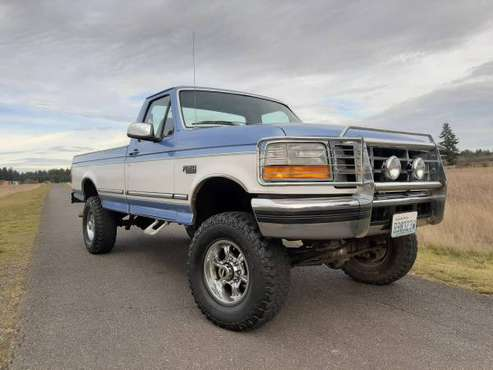 97 FORD f-350 4X4 ~ LOW MILE 100% OG NEAR MINT SURVIVOR ~ GARAGED -... for sale in Galvin, WA
