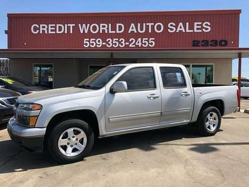 2012 Chevrolet Colorado LT CREDIT WORLD AUTO SALES*EVERYONE'S APPROVED for sale in Fresno, CA