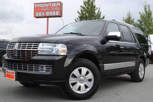 2014 Lincoln Navigator, Leather, Navi, TV, Sunroof, 4x4, Clean!!! -... for sale in Anchorage, AK