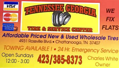 THE BIGGEST TIRE STORE IN CHATTANOOGA WHY PAY MORE?CALL for sale in Chattanooga, TN