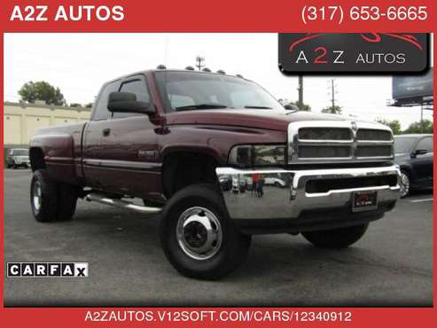 2001 Dodge Ram 3500 Quad Cab Long Bed 4WD for sale in Indianapolis, IN