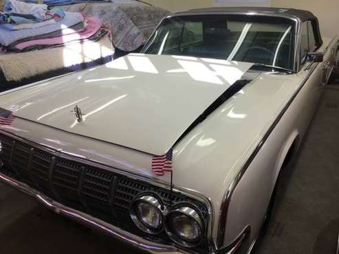 1964 Lincoln Continental 4 door convertible - cars & trucks - by... for sale in Easton, RI