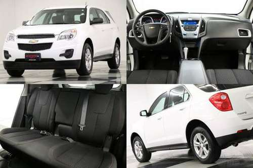 *SLEEK White EQUINOX w BLUETOOTH* 2015 Chevy *LOW MILES - VERY CLEAN* for sale in Clinton, MO