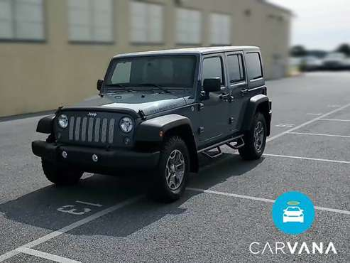 2014 Jeep Wrangler Unlimited Rubicon Sport Utility 4D suv Gray - -... for sale in Long Beach, CA