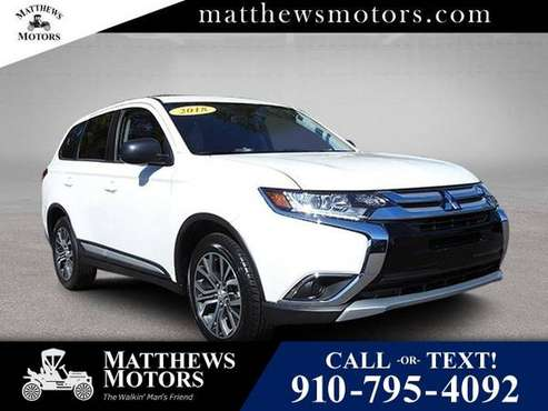 2018 Mitsubishi Outlander ES 2WD w/ 3rd Row for sale in Wilmington, NC