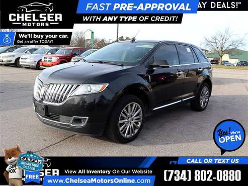 $302/mo - 2015 Lincoln MKX Elite AWD - Easy Financing! - cars &... for sale in Chelsea, MI