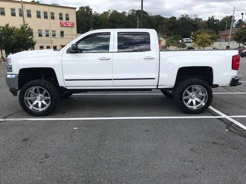 CHEVY SILVERADO 2017 WHITE for sale in Scarsdale, NY