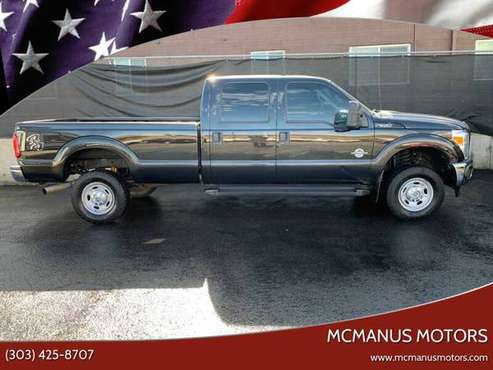 FORD F350 SUPER DUTY XLT 4X4*FINANCE AND DRIVE IN 30 MIN any credit for sale in Wheat Ridge, CO