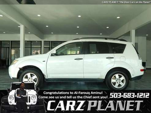 2007 Mitsubishi Outlander All Wheel Drive AWD SUV 3RD ROW SEATING MITS for sale in Gladstone, OR
