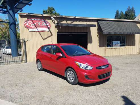 2017 Hyundai Accent SE Hatchback* 36 MPG* 45,380 miles* Easy Approval! for sale in Modesto, CA