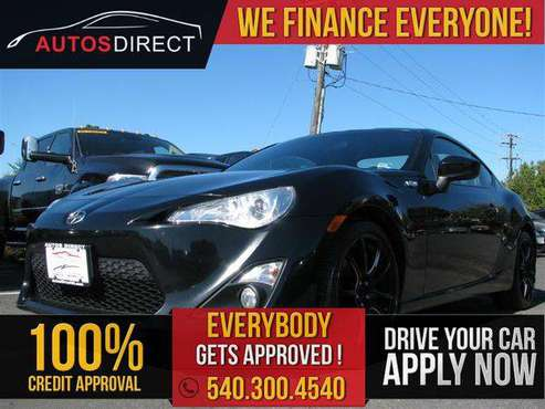 2014 SCION FR-S $0 DOWN PAYMENT PROGRAM!! for sale in Fredericksburg, VA