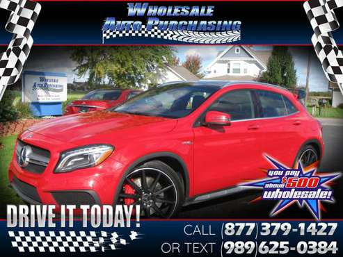 2016 Mercedes-Benz GLA 4MATIC 4dr AMG GLA 45 for sale in Frankenmuth, MI