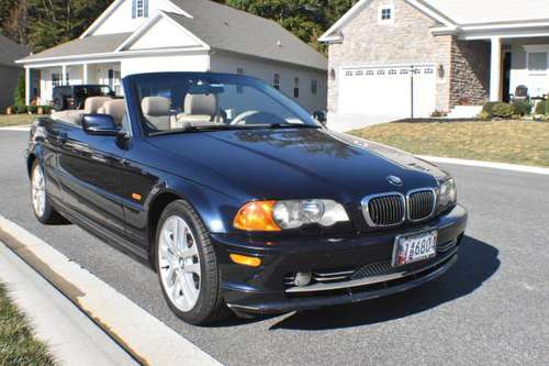 BMW 330 ci convertible MD insp. for sale in Havre De Grace, MD