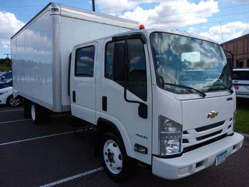 2016 Chevrolet LCF 4500 with 14' landscaper cube for sale in Eden Prairie, MN
