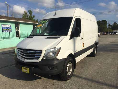 "2015 FREIGHTLINER SPRINTER 2500 SUPER HI CEILING 144"" WB W ONLY 50K MI for sale in Wilmington, NC"