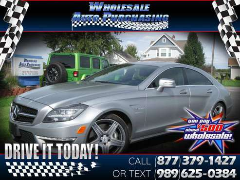 2012 Mercedes-Benz CLS-Class 4dr Sdn CLS 63 AMG RWD for sale in Frankenmuth, MI