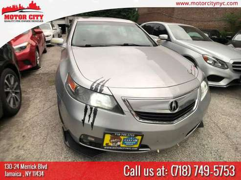 CERTIFIED 2013 ACURA TL! TECH PACKAGE ! AWD! NAVI! TONS OF EXTRAS! for sale in Jamaica, NY