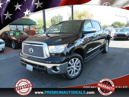 2011 Toyota Tundra Limited 4x2 4dr CrewMax Cab Pickup SB (5.7L V8)... for sale in Sacramento , CA