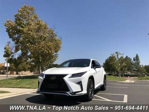 2017 Lexus RX 350 F SPORT for sale in Temecula, CA