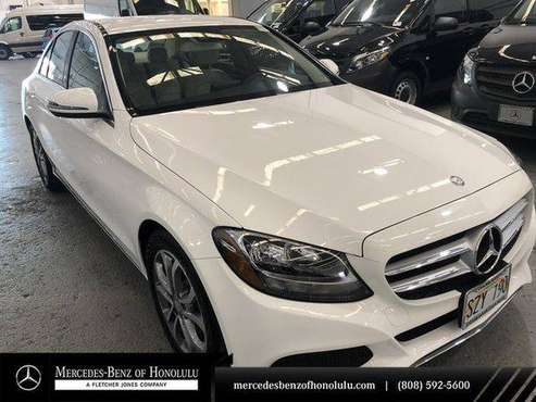 2017 Mercedes-Benz C-Class C 300 -EASY APPROVAL! for sale in Honolulu, HI