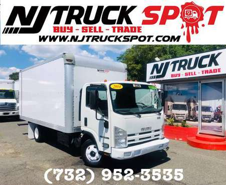 2014 ISUZU NPR-HD 16FT DRY BOX + NO CDL **NJTRUCKSPOT** NEGOTIABLE for sale in South Amboy, NY
