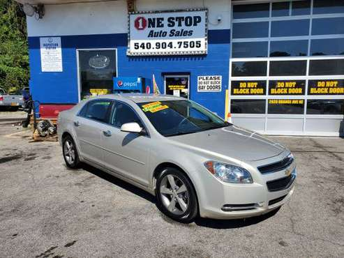 12 CHEVY MALIBU LOW MILES BUY HERE PAY HERE for sale in Roanoke, VA
