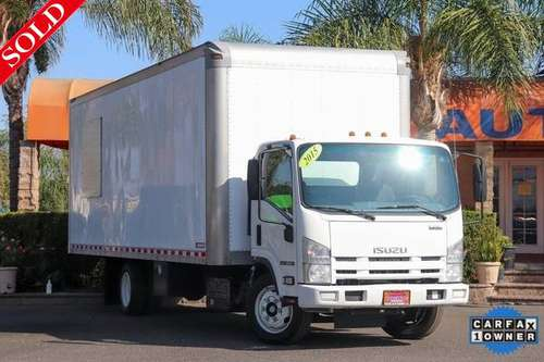 2015 Isuzu NRR Single Cab RWD Delivery Diesel Box Truck (26983) for sale in Fontana, CA