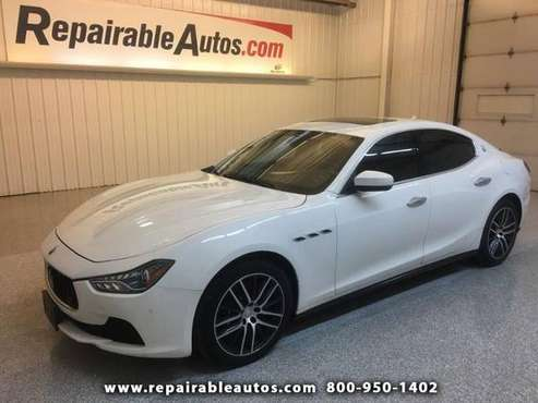 2017 Maserati Ghibli S Q4 3.0L for sale in Strasburg, ND